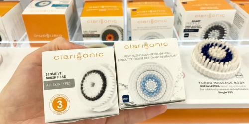 Up to 60% Off Clarisonic Accessories + Free Shipping on Amazon