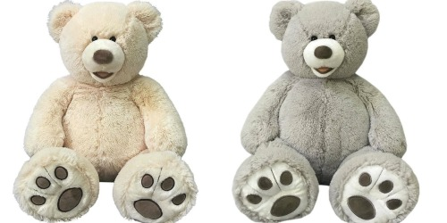Adorable 25″ Plush Bears ONLY $9.99 Shipped + More