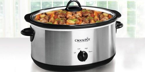 Amazon: Crock Pot 7-Quart Slow Cooker Only $20.59