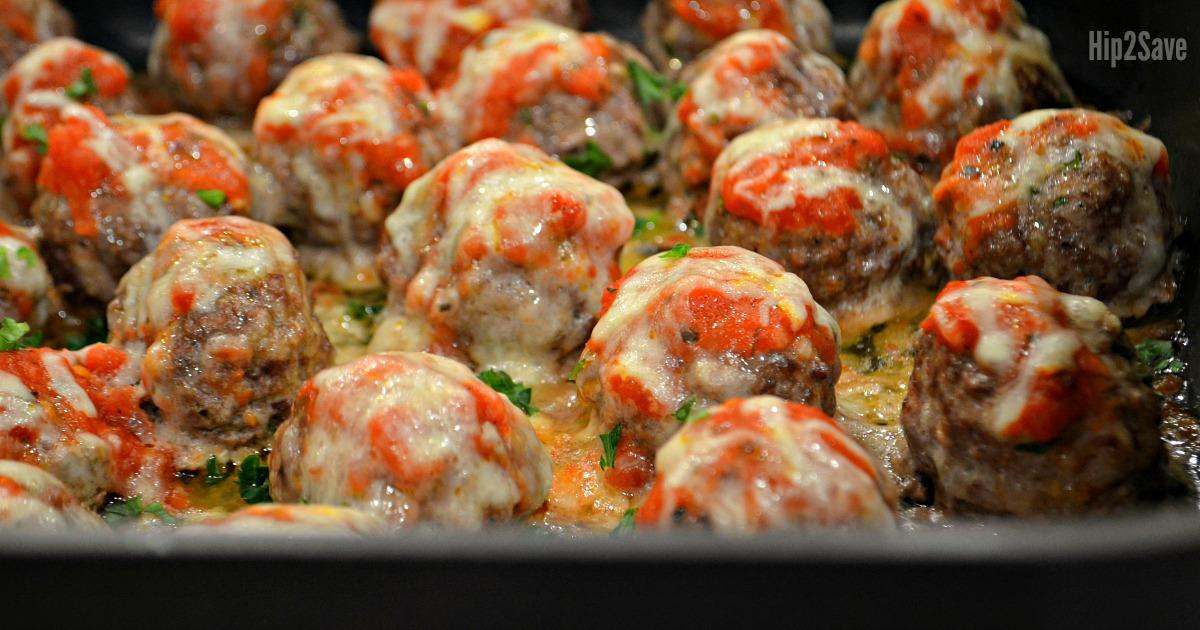 low carb keto meatballs