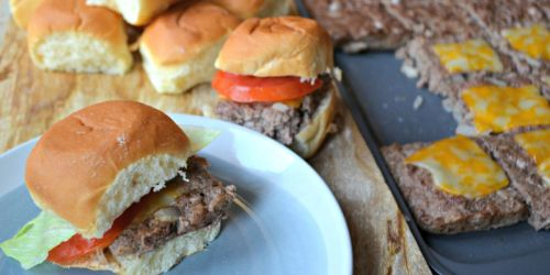 How to Easily Make Hamburger Sliders For a Crowd