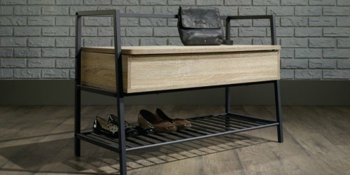 Modern Farmhouse Storage Bench Only $116.99 Shipped