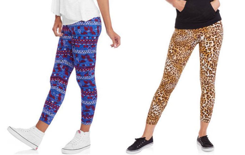 b732c1a220380 Faded Glory Printed Women's Capri Legging Just $2.50 (regularly $5.94)