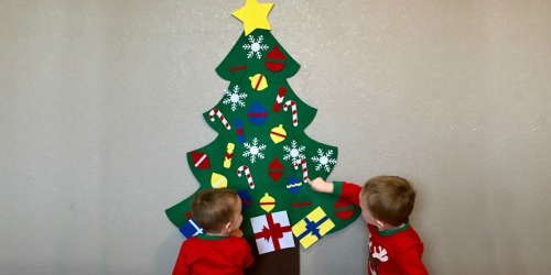 DIY Toddler Felt Christmas Tree