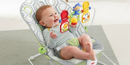 Fisher Price Baby Bouncer Only $20.99 on Amazon (Regularly $40)