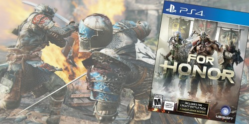 Amazon: For Honor PlayStation 4 Game Only $17.98 (Regularly $59.99)