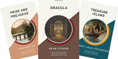 Amazon Prime: FREE Kindle Classic eBooks (Pride & Prejudice, Dracula & More)