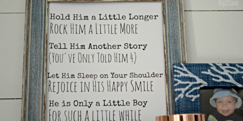 "Free Printable ""Hold Him/Her a Little Longer"" Poem"