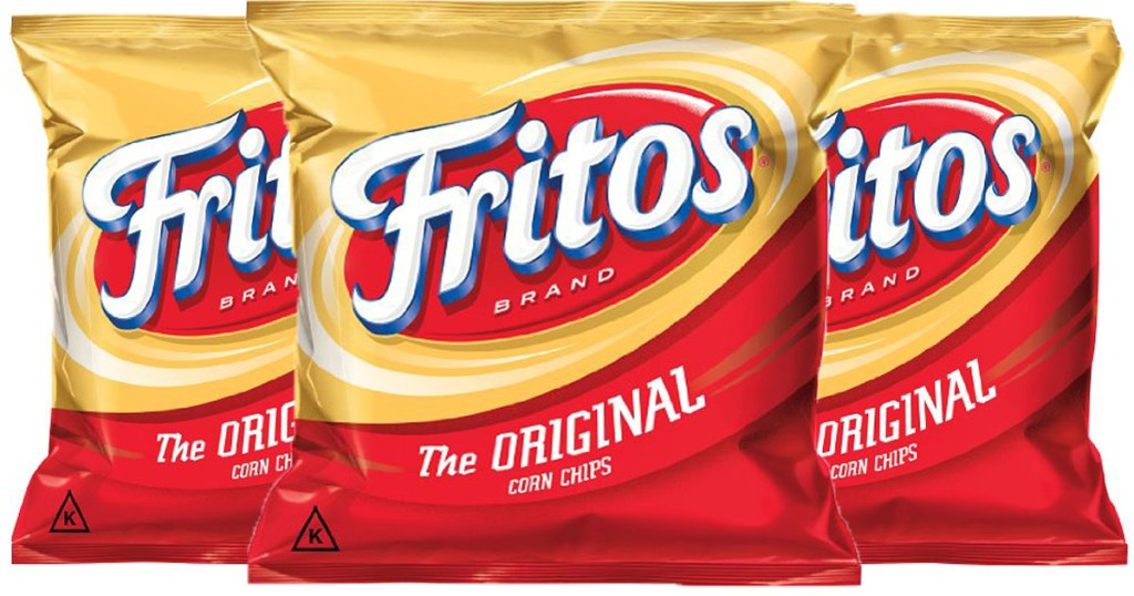 3 bags of fritos chips