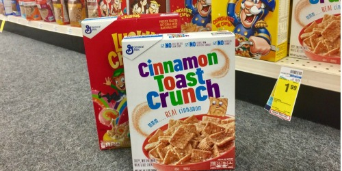 $10 Off First CVS Curbside Order Of $10+ = SIX Boxes General Mills Cereal Just $1.94 TOTAL
