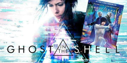 Ghost in the Shell Blu-ray Combo Pack Only $9.99 (Regularly $24.99)