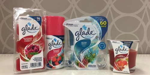 Five New Glade Coupons = Car Freshener Starter Kit Just $2.50 at Rite Aid (After Points)
