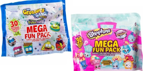 Costco: Shopkins or Grossery Gang 30-Count Mega Fun Blind Pack Only $19.99 Shipped