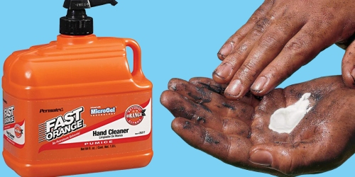 Walmart.com: Permatex Fast Orange Pumice Hand Cleaner 1/2 Gallon Pump Only $4.53