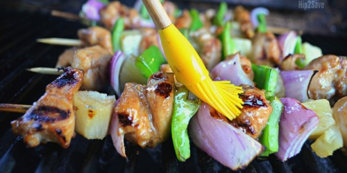 Sweet and Savory Hawaiian Chicken Kabobs