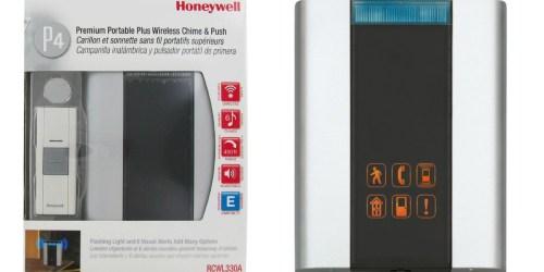 Amazon: Honeywell Premium Portable Door Chime Only $24.99 (Regularly $70)
