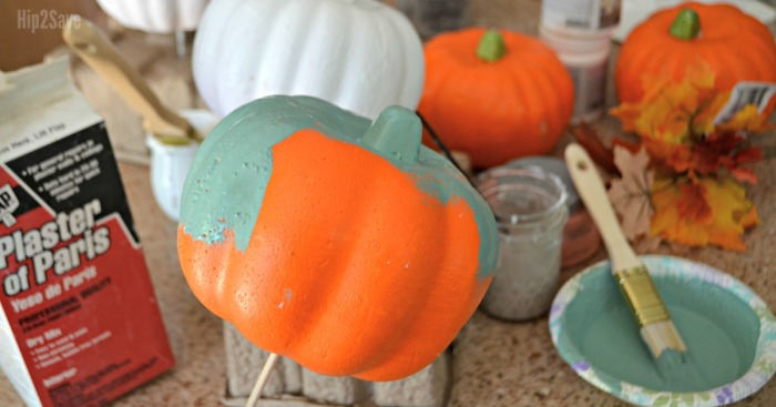 Easy Pumpkin Crafts With Dollar Tree Items