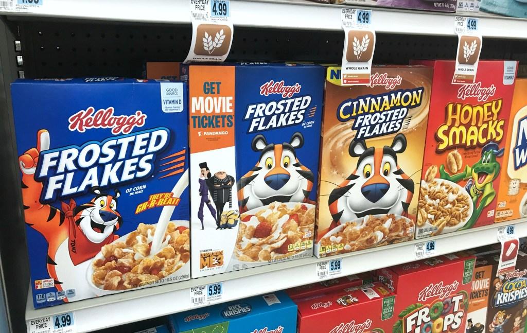 Rite Aid Best Deals Kellogg's Cereal