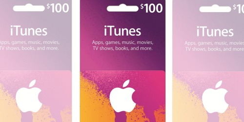 Amazon: $100 iTunes Gift Card Only $85 Shipped