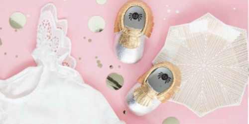 Kohl's Cardholders: Itzy Ritzy Baby Moccasins Just $5.60 Shipped (Regularly $40?!)