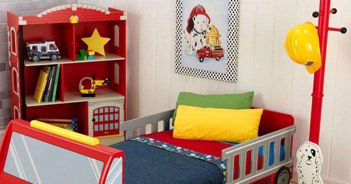 KidKraft Firehouse Bookcase Only 5899 Shipped Regularly 156