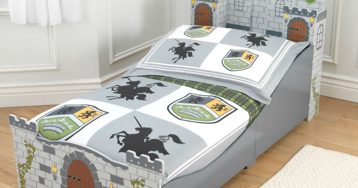 Kohl's: KidKraft Medieval Castle Toddler Bed Just $63.99