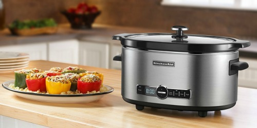 Macy's: KitchenAid 6-Quart Slow Cooker Only $69.99 Shipped After Rebate (Regularly $145)