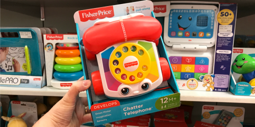 Fisher-Price Chatter Telephone Only $5.99 Shipped at Target | Great Toddler Gift Idea