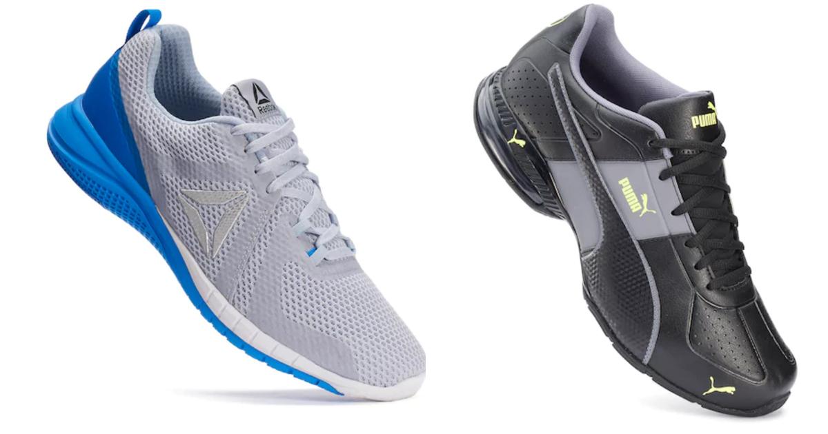 7489f7dc015fd1 Kohl s Cardholders  Reebok   Puma Running Shoes  30 Each Shipped + Earn  Kohl s Cash