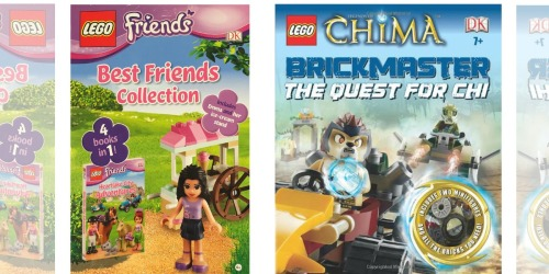 Kohl's Cardholders: LEGO Book w/ Minifigure Just $4.19 Shipped (Regularly $30) & More