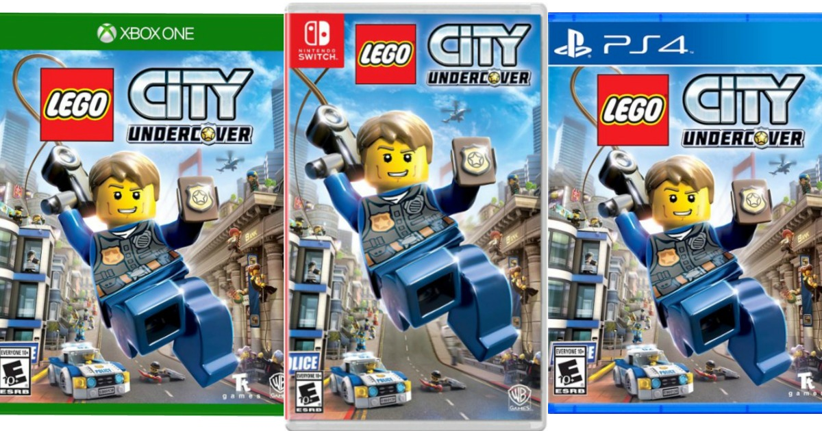Lego City Undercover Game Only 29 99 Regularly 50 Ps4 And Switch Hip2save