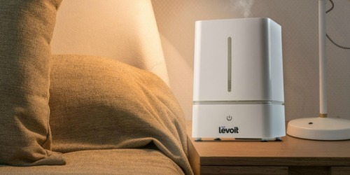 Amazon: Levoit Cool Mist Humidifer, Diffuser AND Nightlight Only $29.99 Shipped