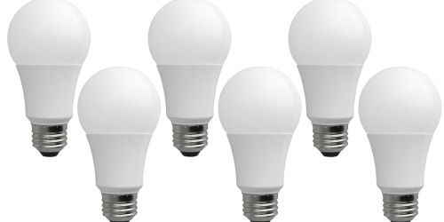 Home Depot: 6 Pack LED Light Bulbs Only $10.86 Shipped – Just $1.81 Per Bulb