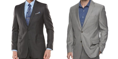 Kohl's Cardholders: Men's Marc Anthony Suit Jacket & Chaps Tie Only $28.07 Shipped ($417 Value)