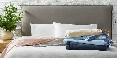 Martha Stewart Soft Fleece Blankets in ALL Sizes Only $15 at Macy's (Regularly $50)