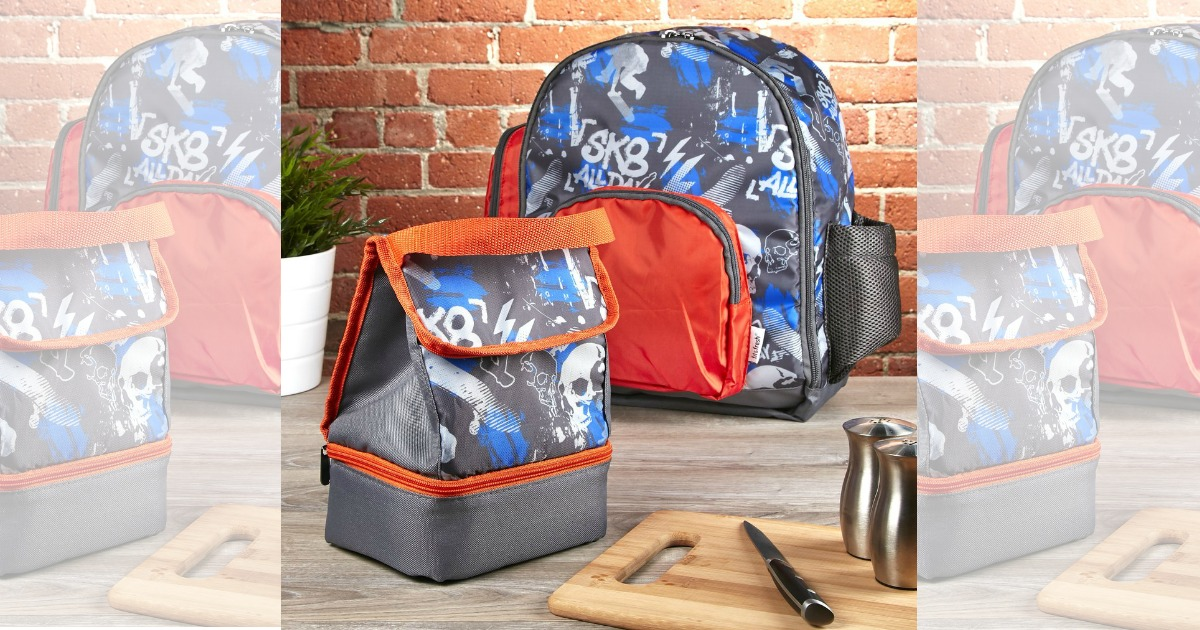 Fit & Fresh: Kids Backpack + Matching Lunch