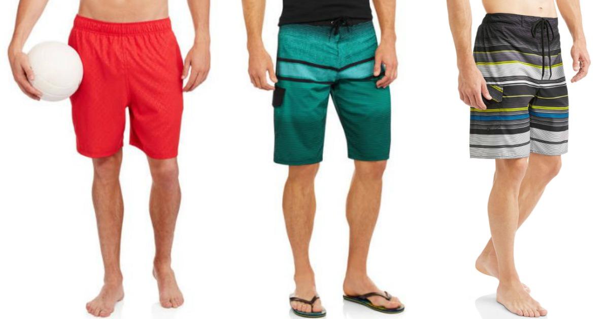 30acb69ddf Walmart.com: Men's Swim Trunks As Low As $5.50 - Hip2Save