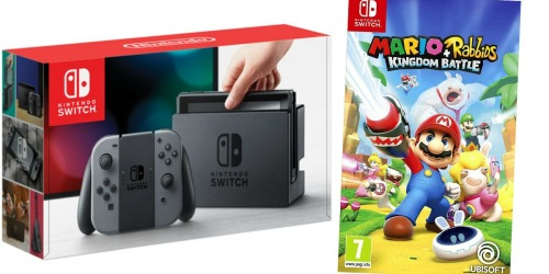 Nintendo Switch Console + Mario Game Bundle Pack Only $339.99 Shipped (Regularly $389.99)