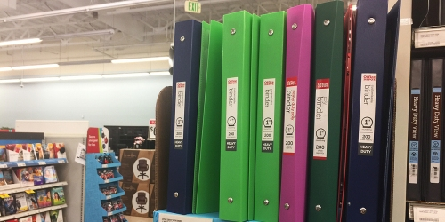 Office Depot/OfficeMax: FREE Heavy Duty Binders AND 1¢ Duracell Batteries (After Rewards)