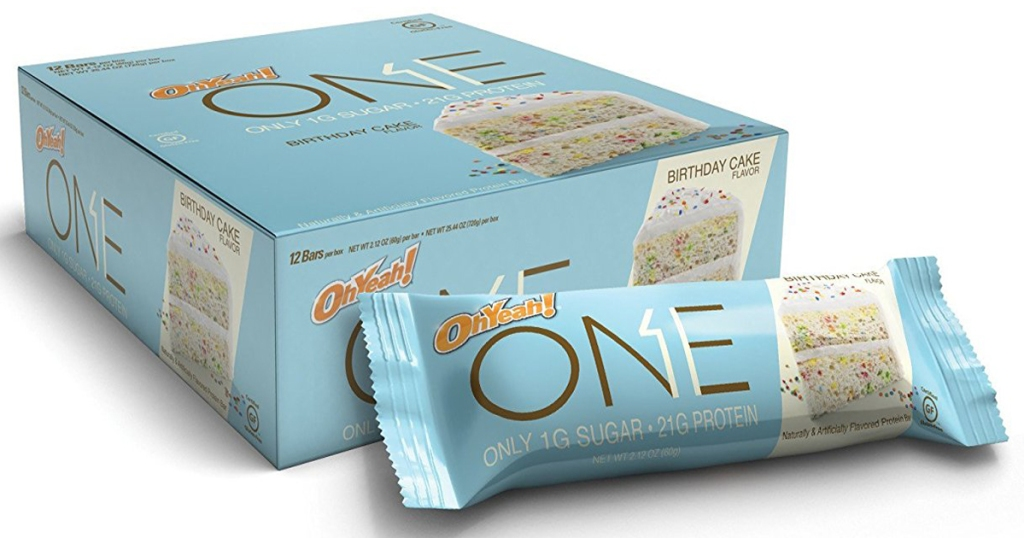 22g Protein AND Just 1g Sugar Per Bar