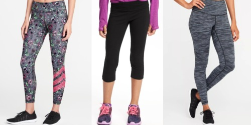 Old Navy Girls Compression Leggings Only $9.60 (Regularly $19) + More