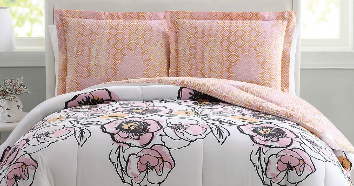 Macy S Com 3 Piece Comforter Set Only 19 99 Regularly