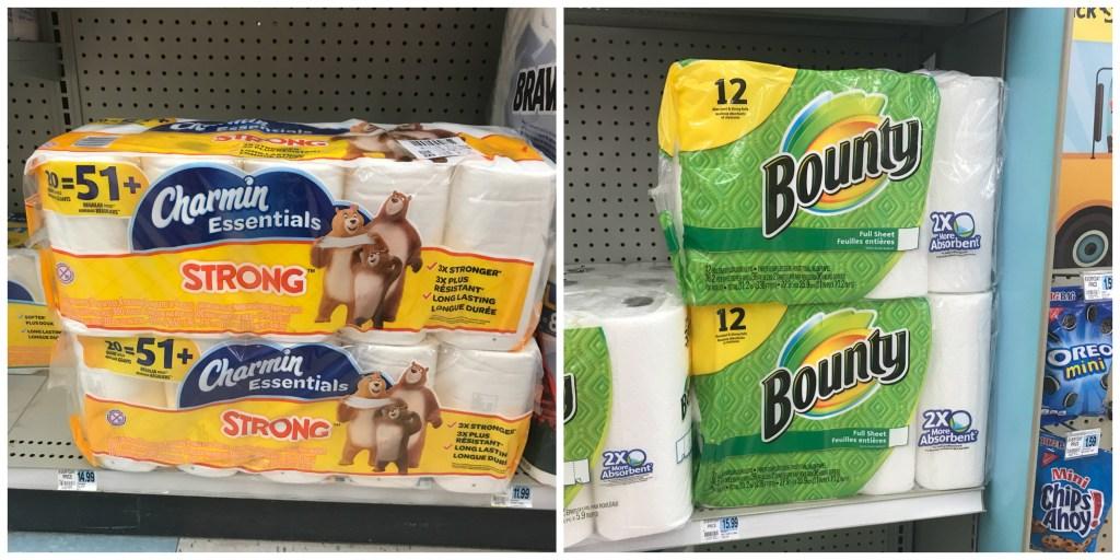Rite Aid Bounty Paper Towel Charmin