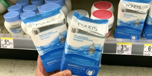 Walgreens: Pond's Cleansing Towelettes 15 Count Only 90¢ Each After Rewards (Starting 9/17)