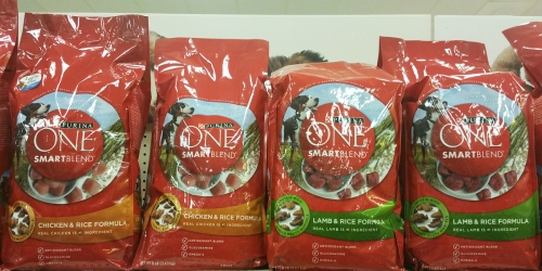 4 New Purina ONE Dog & Cat Food Coupons