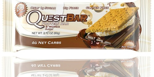Amazon: Quest Nutrition Protein Bars Just $1.30 Per Bar