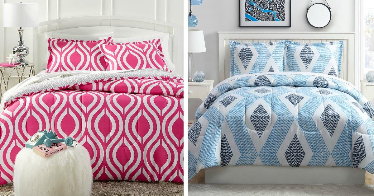 Macy S Reversible Full Queen Comforter Sets Only 19 99