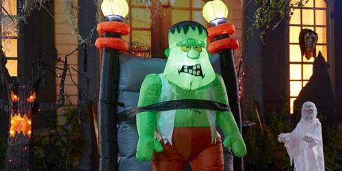 Big Lots: HUGE Animated Halloween Inflatable Only $40