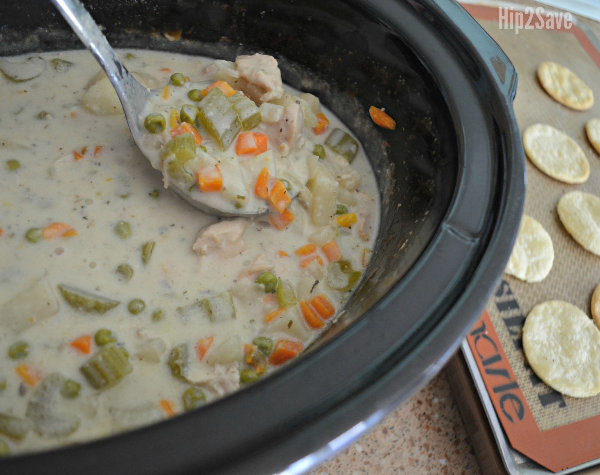 butternut squash slow cooker soup