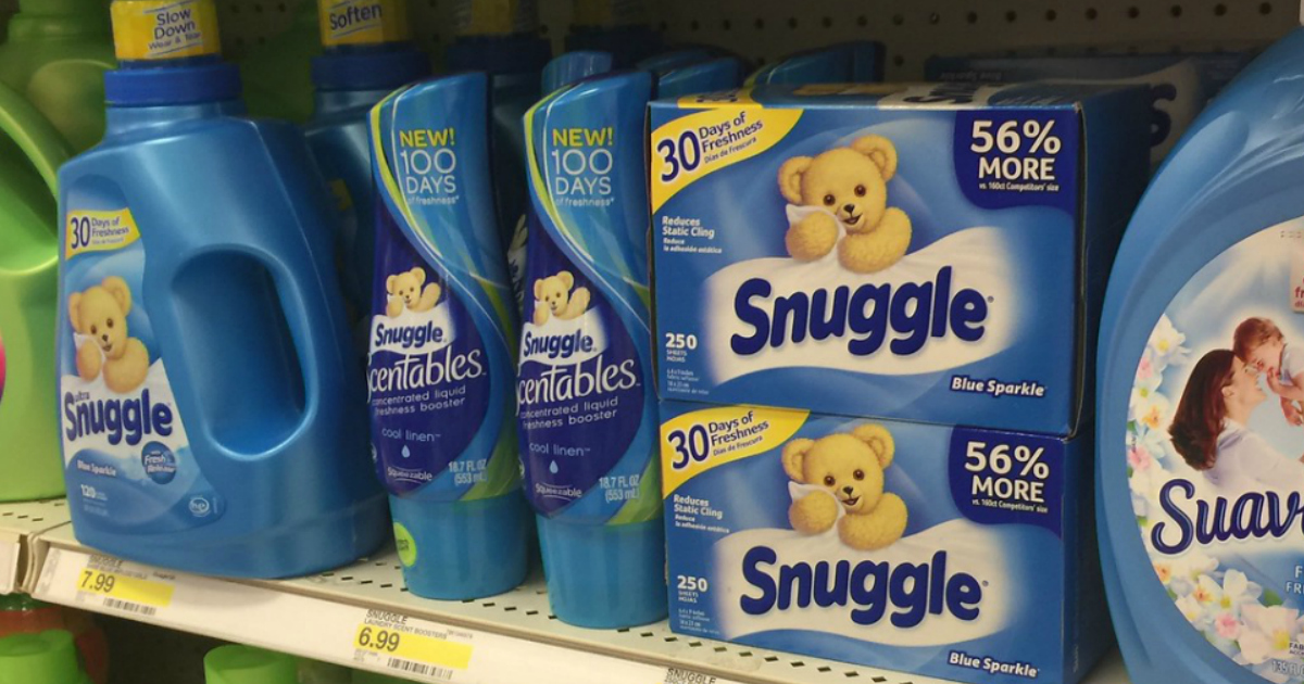 Top 6 Household Essentials Coupons To Print Snuggle